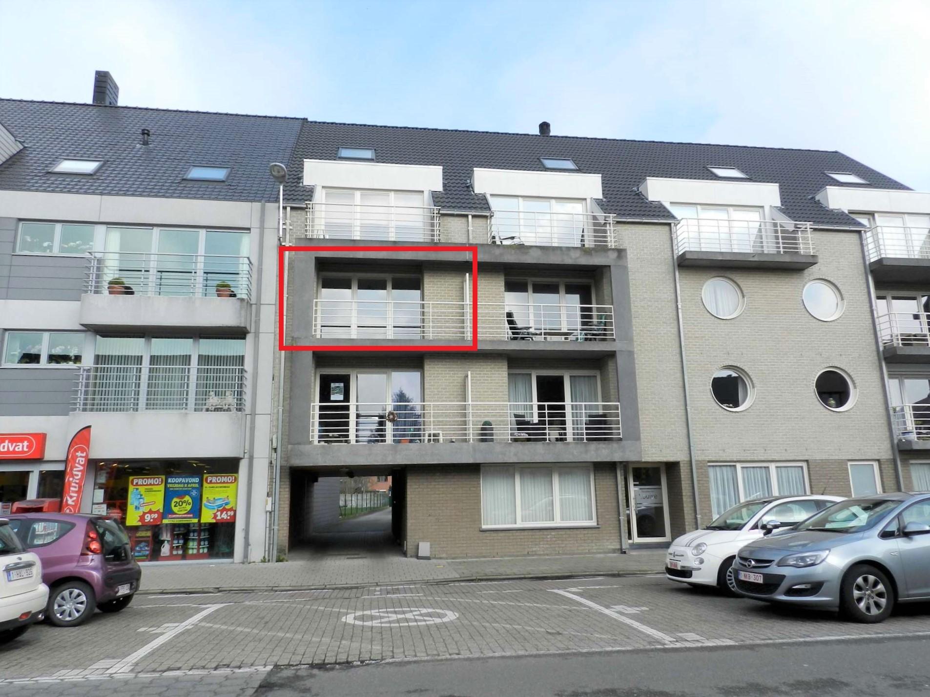 Appartement met 2 slaapkamers en terras