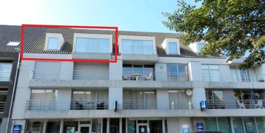 Ruim appartement met 2 slaapkamers, garage en terras