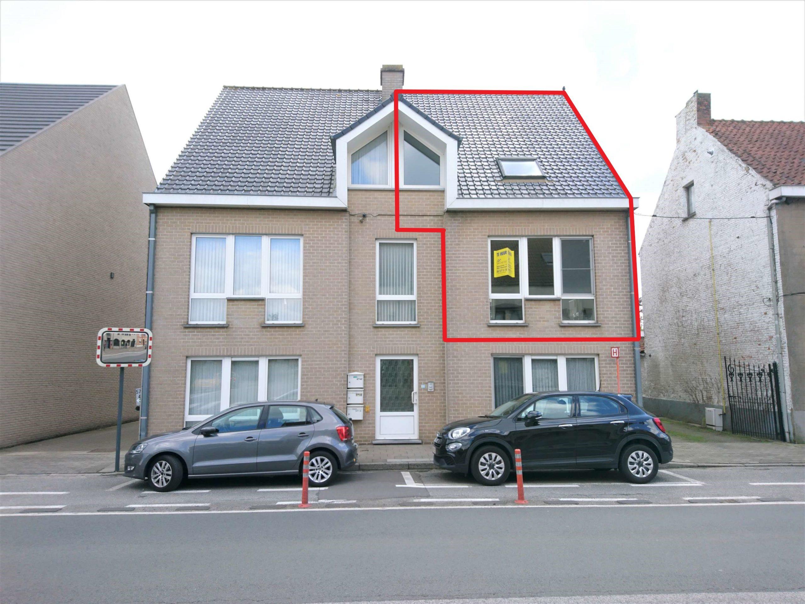 Duplexappartement met 2 slaapkamers, garage en terras